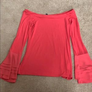 White House Black Market Tops - Beautiful red off the shoulder top